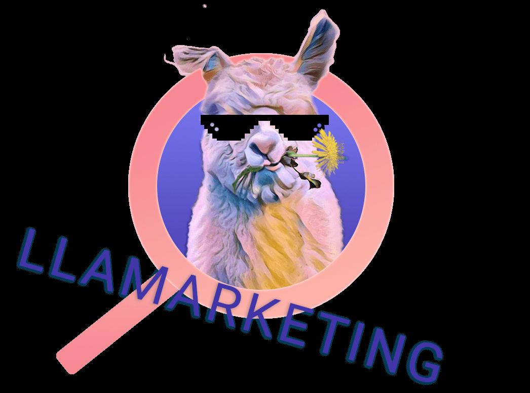 Llamarketing Logo